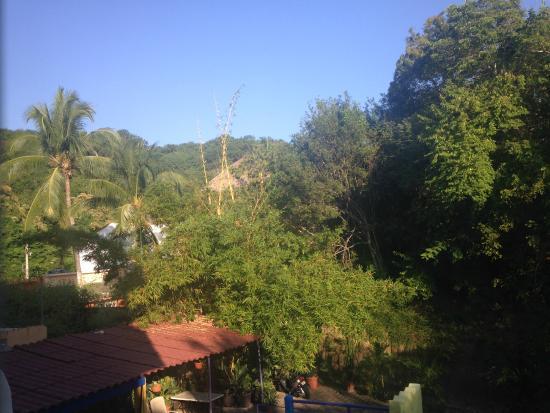 """Arenas del Pacifico: la vista desde mi habitación """"Arenas de Esperanza"""""""