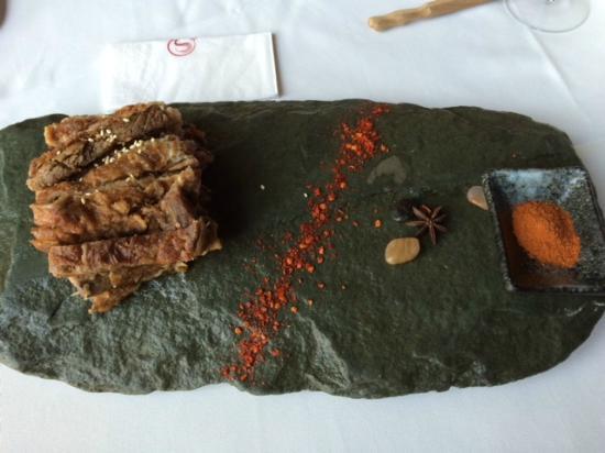 Zang Su FengGe Restaurant QianHai: Costela de Cordeiro