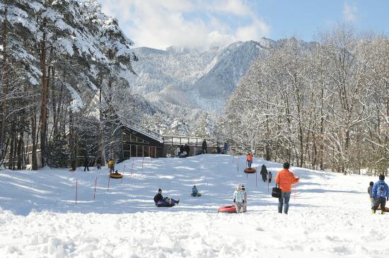 Alps Azumino National Government Park  Omachi/Matsukawa