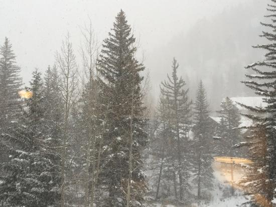 Hotel Talisa, Vail: Our room view