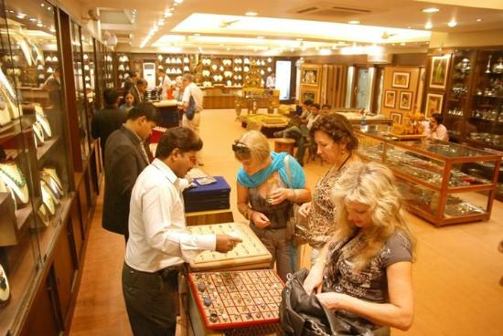 Silver Jewellery With Gems Stones Picture Of Handicrafts Gallery