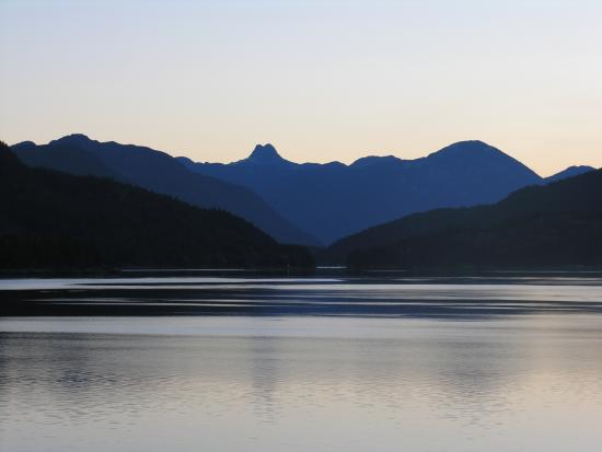 Discovery Islands Lodge: The View