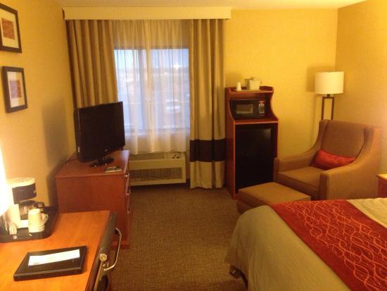 Comfort Inn Pueblo: Room