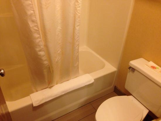 Comfort Inn Pueblo: Bathroom.