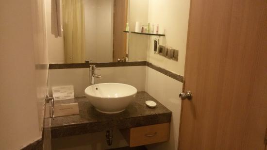Sangam Hotel, Trichy: WASH ROOM