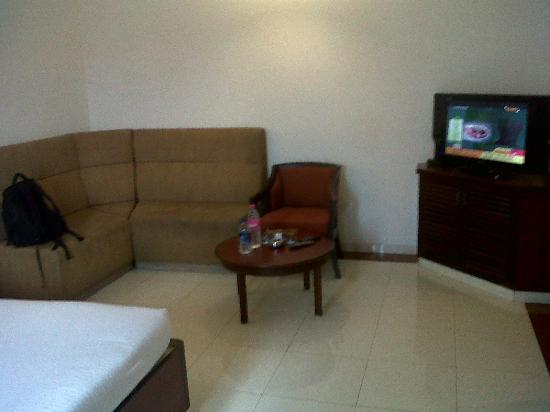 Hotel Rathna Residency & Vista Rooms: sitting area in room