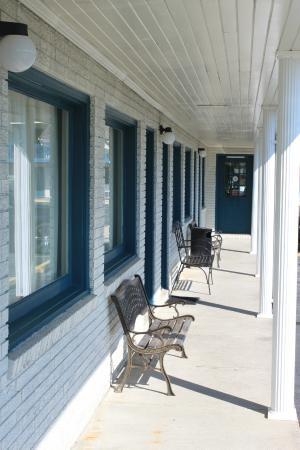 Burgaw Motel: Ground floor rooms