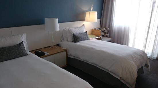 Protea Hotel by Marriott Cape Town Sea Point: This was a pic I took inspecting the superior grade rooms, with twin-bed configuration