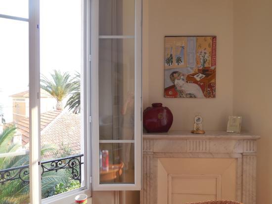 Hotel Villa Les Cygnes: Room interior