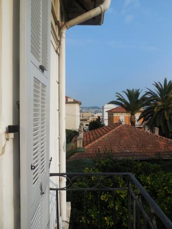 Hotel Villa les Cygnes : View from balcony