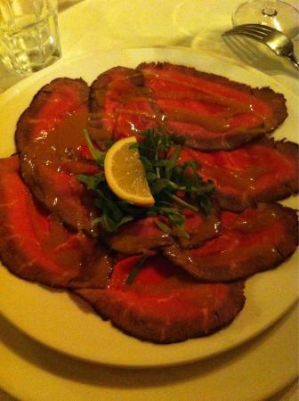 Osteria Il Norcino: Roast beef buono