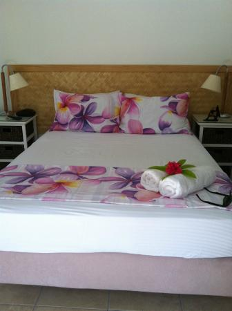 Rarotonga Daydreamer Resort: Bed