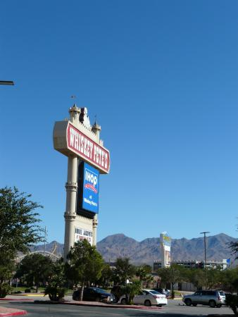 Whiskey Pete's Hotel & Casino: Sign along the interstate