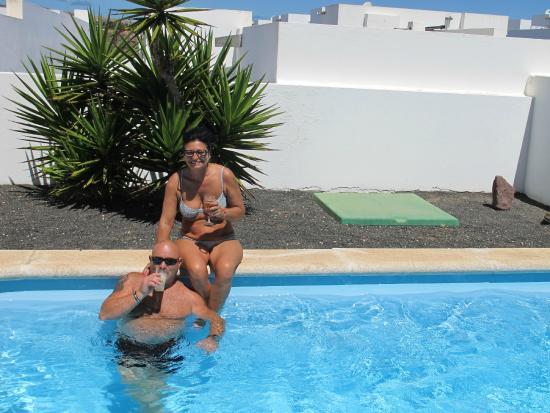 Villas Puerto Rubicon: repos piscine...