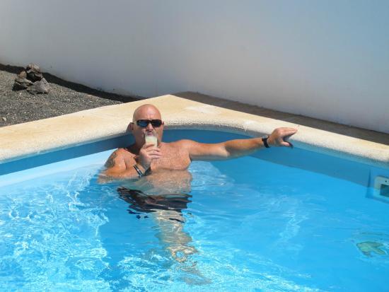 Villas Puerto Rubicon: apéro piscine...