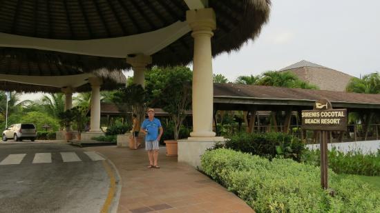 Entrée de l'hotel