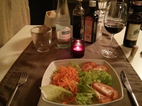 Ristorante Pizzeria La Quercia: Salad