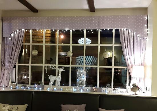 The Chantry Tea Room: Beautiful Christmas window 2014.