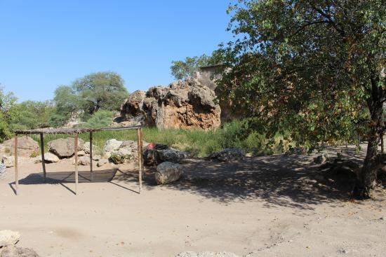 Warmquelle, Namibia: Campsite
