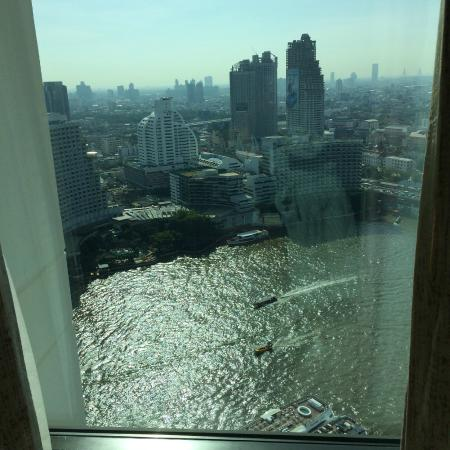 The Peninsula Bangkok: River view from room