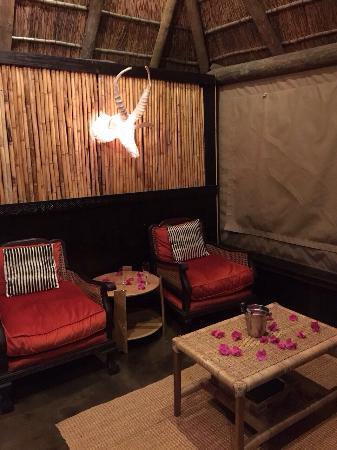 Amakhala Safari Lodge: Seating area in room