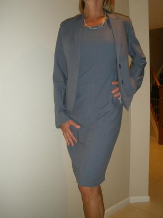 Tailor made dress and matching jacket fully lined - Picture of Two ...