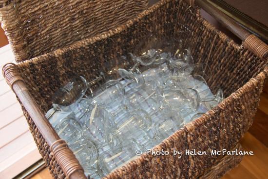 Scarborough Wine Co: Tasting glasses