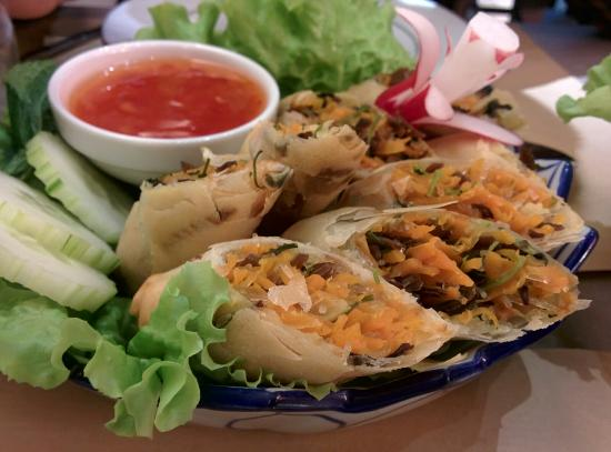 Le Banthai: Nems aux légumes