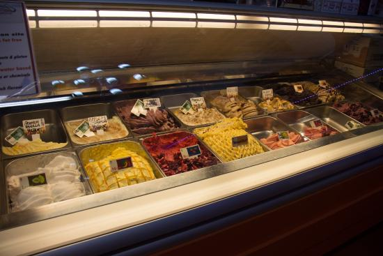 Hunter Valley Smelly Cheese Shop - Hall of Food: Ice Cream bar