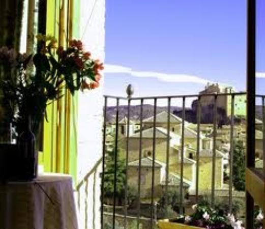 Hotel Santa Maria de Alquezar : Vue depuis la chambre