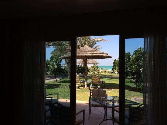 Danat Jebel Dhanna Resort : From our lovely chalet ��