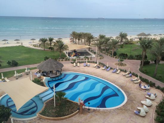 Danat Jebel Dhanna Resort: Room view ����