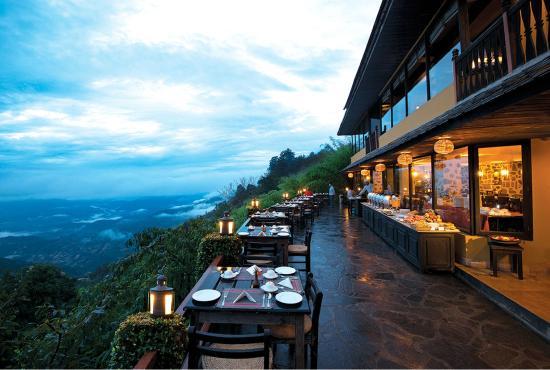 Hotel Country Villa: Outdoor Restaurant