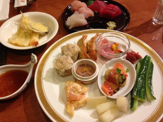 Yaizu Grand Hotel: 夜のビュッフェ