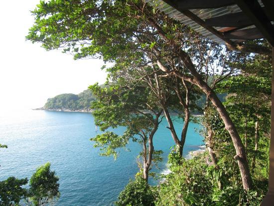 Secret Cliff Resort: View from Balcony