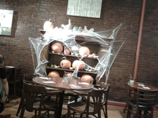 cupping room cafe halloween decorations