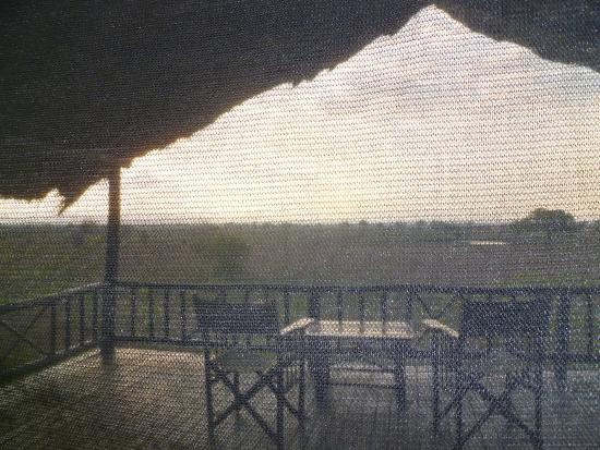 Stanley's Kopje Camp: View from inside the tent