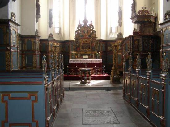 Naestved, Дания: Gavnø Slot Kirke1.