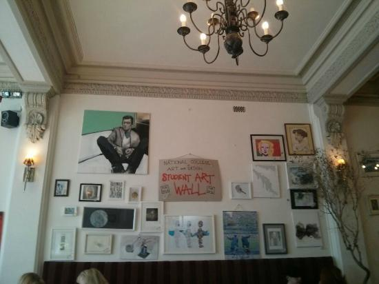 The Food Gallery: Interior