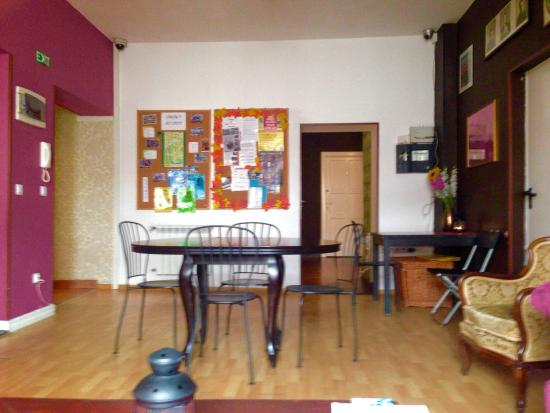 Pink Panther's Hostel: Common area