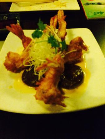 Metro Rahu: Shrimps tempura