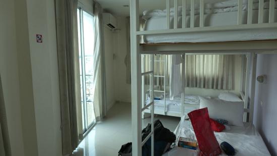 At Hua Lamphong Hostel: @フア ランポーン ホステル