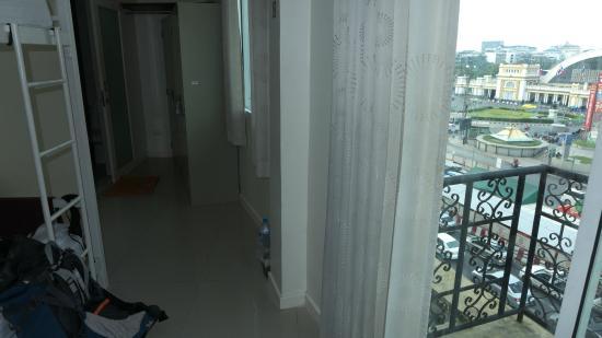 At Hua Lamphong Hostel : @フア ランポーン ホステル