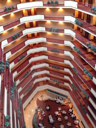 Atrium hotel has 13 floors picture of embassy suites for 13 floor dallas tx