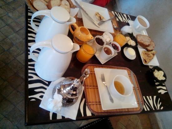 Riad Baba Ali: Desayuno