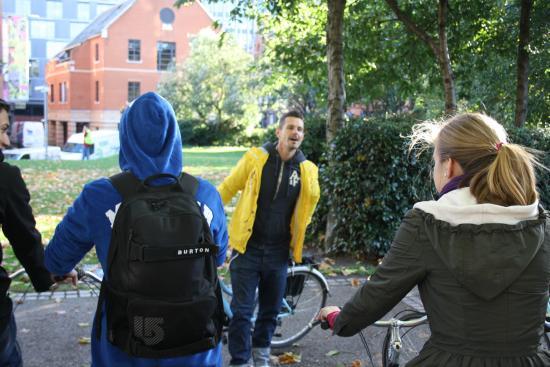 Baja Bikes London: Richie hatte tolle Geschichten zu erzählen