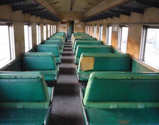 Victoria Falls Steam Train: Interior