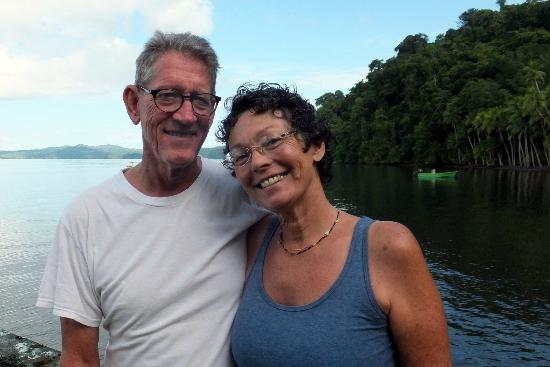 Saladero Eco Lodge: Harvey & Susan