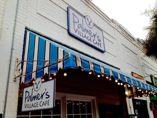Palmer's Village Cafe: Look for the sign