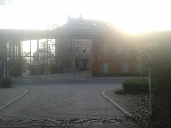 Youth Hostel Remerschen : Outside hostel